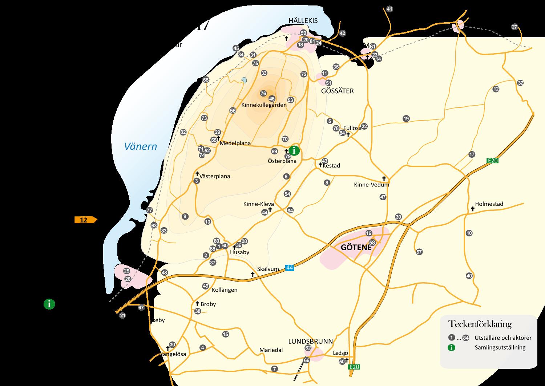 Vårrundan karta 2017